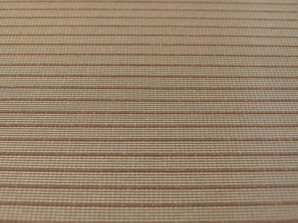 TYP 2202 Beige + Streifen Braun (grob)